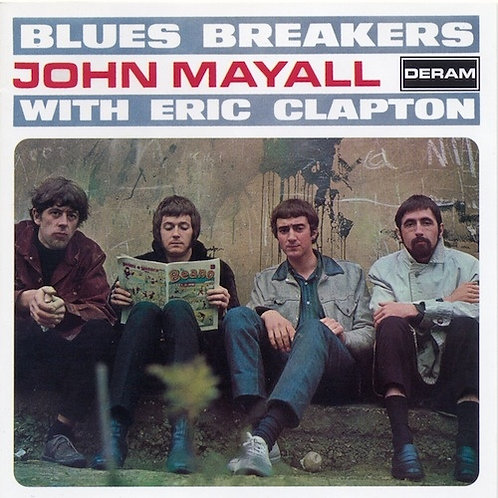 JOHN MAYALL WITH ERIC CLAPTON - CD Blues Breakers