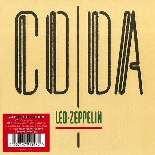 LED ZEPPELIN 2xCD Coda (Deluxe Digipack + Bonus Tracks)