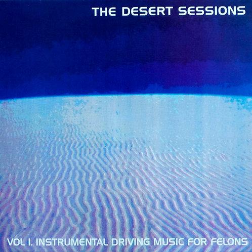 THE DESERT SESSIONS LP Vol I / Vol II (Yellow Coloured Vinyl)