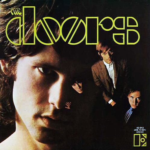 THE DOORS LP The Doors (German Reissue)