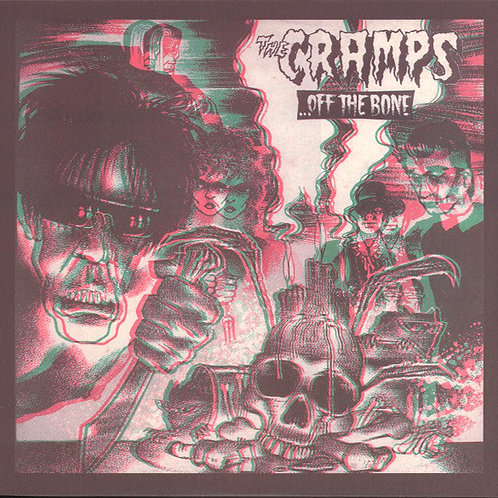 CRAMPS LP Off The Bone (3D picture sleeve)