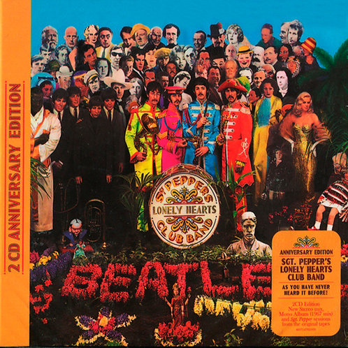 BEATLES 2xCD Sgt. Pepper's Lonely Hearts Club Band (Anniversary Edition)