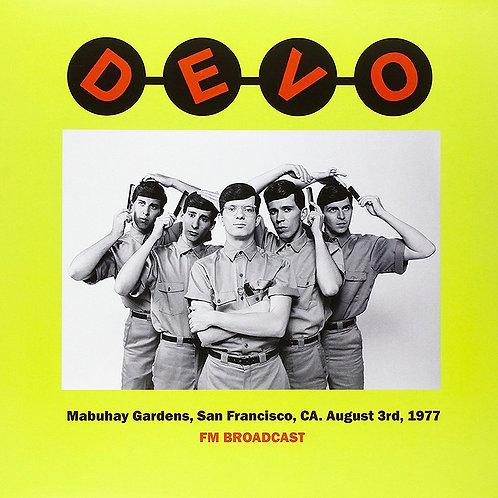 DEVO LP Mabuhay Gardens, San Francisco, CA. August 3rd, 1977