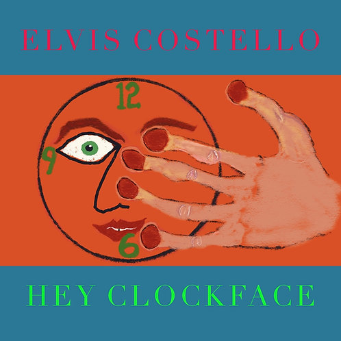 ELVIS COSTELLO 2xLP Hey Clockface