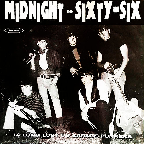 VARIOS LP Midnight To Sixty-Six (14 Long Lost US Garage Punkers)