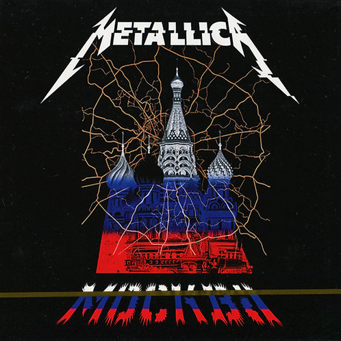METALLICA 2xCD Live In Moscow - Luzhniki Stadium • Russia • July 21 • 2019