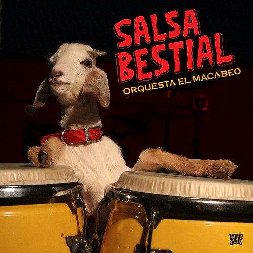 ORQUESTA EL MACABEO CD Salsa Bestial