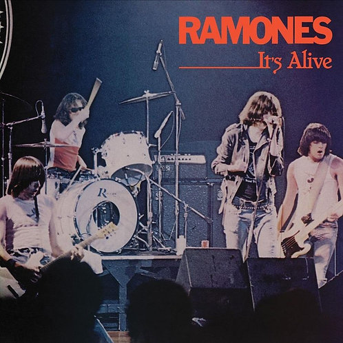 RAMONES 2xLP It's Alive (Red & Blue Coloured Vinyl) 40th Anniversary Edition