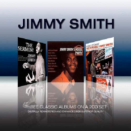 JIMMY SMITH 2xCD Three Classic Albums