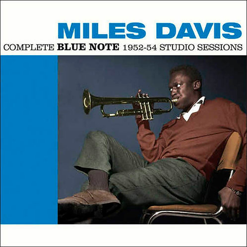 MILES DAVIS 2xCD Complete Blue Note 1952-54 Studio Sessions