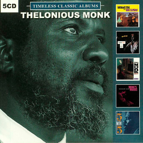 THELONIOUS MONK BOX SET 5xCD Timeless Classic Albums