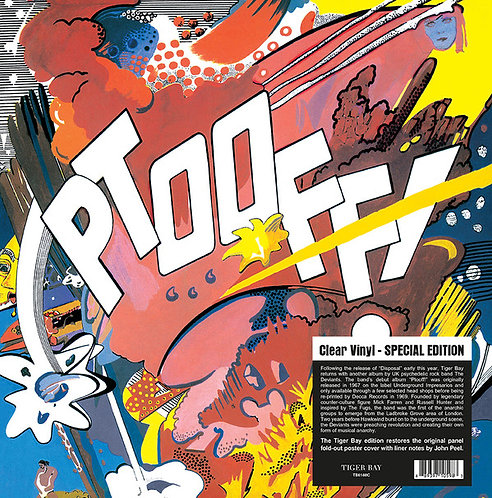 THE DEVIANTS LP Ptooff! (Clear Vinyl - Special Edition)