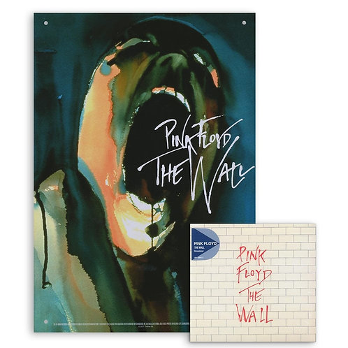 PINK FLOYD 2xCD+PLAQUE The Wall (2009 Remastered)