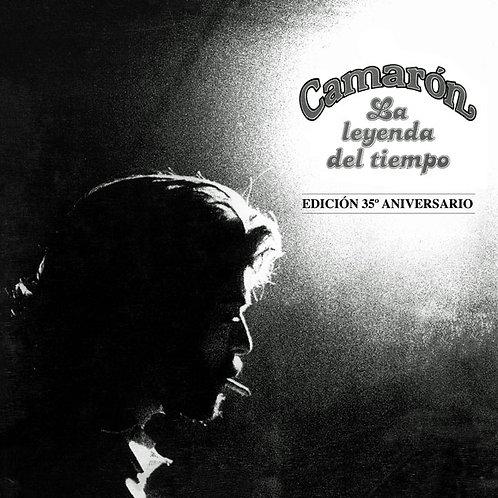 CAMARON CD+DVD La Leyenda Del Tiempo (Edición 35º Aniversario)