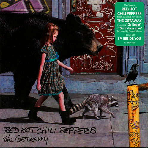 RED HOT CHILI PEPPERS 2xCD The Getaway + Bonus Cd