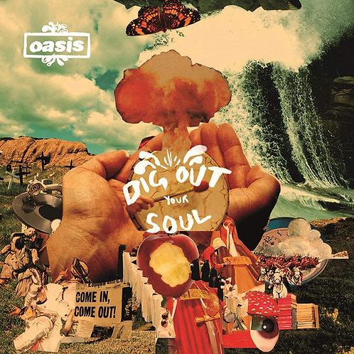 OASIS 2xLP Dig Out Your Soul