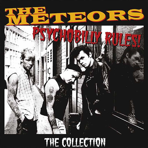 THE METEORS 2xLP Psychobilly Rules - The Collection (Yellow Coloured Vinyl)