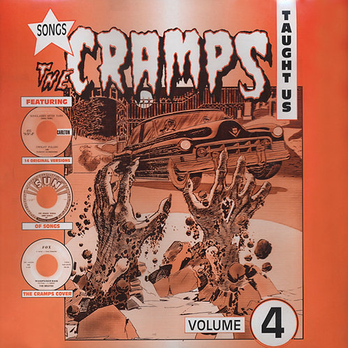 VARIOS LP Songs The Cramps Taught Us Volume 4