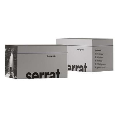 JOAN MANUEL SERRAT BOX SET 13xCD Discografia en Catala