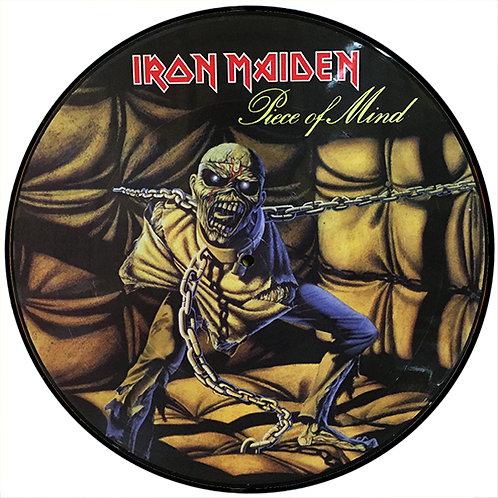 IRON MAIDEN LP Piece Of Mind (Picture Disc Promo)