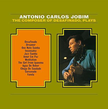 ANTONIO CARLOS JOBIM LP The Composer Of Desafinado, Plays