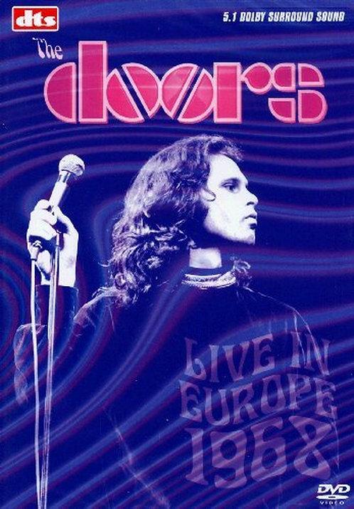 THE DOORS DVD Live In Europe 1968
