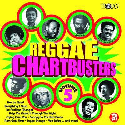 VARIOUS CD Reggae Chartbusters Volume 5