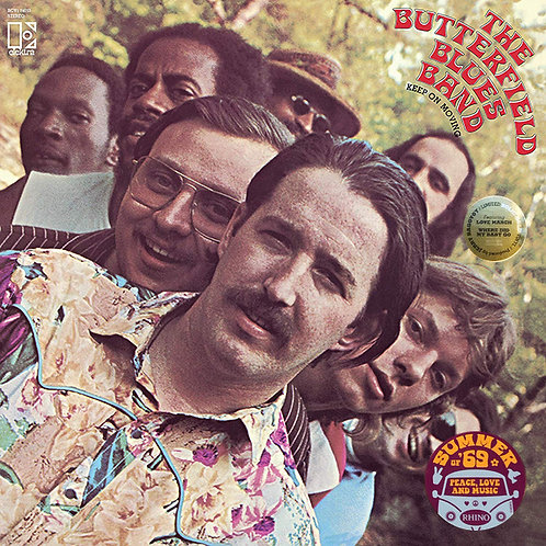 THE BUTTERFIELD BLUES BAND LP Keep On Moving (Gold Coloured Vinyl)