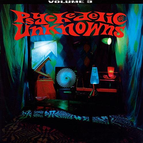 VARIOS LP Psychedelic Unknowns Volume 3