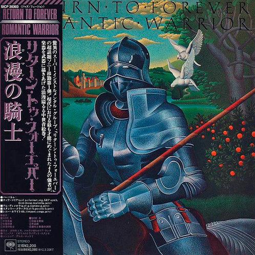 RETURN TO FOREVER CD Romantic Warrior (Japan)