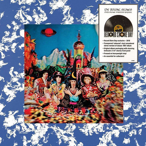 ROLLING STONES LP Their Satanic Majesties Request (Clear Coloured 3D Cover)