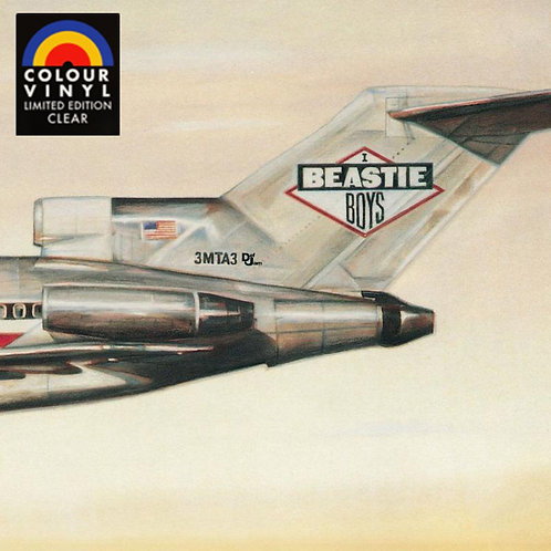 BEASTIE BOYS LP License to Ill (Limited Edition Clear Coloured Vinyl)