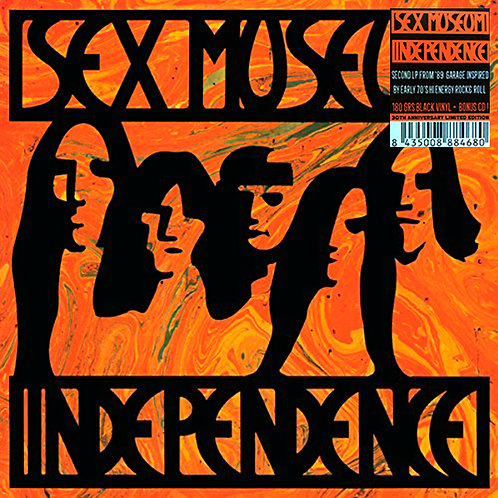 SEX MUSEUM LP+CD Independence (30th Anniversary)