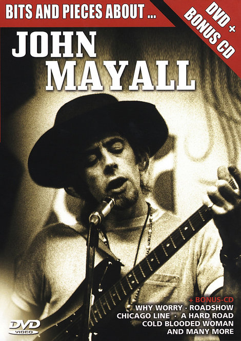 JOHN MAYALL DVD+CD Bits And Pieces About...