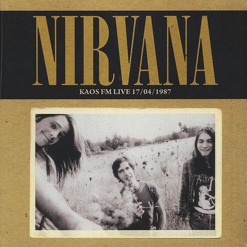 NIRVANA LP KAOS FM Live 17/04/1987