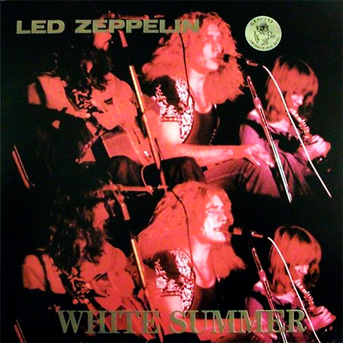 LED ZEPPELIN LP White Summer (Rare Live)