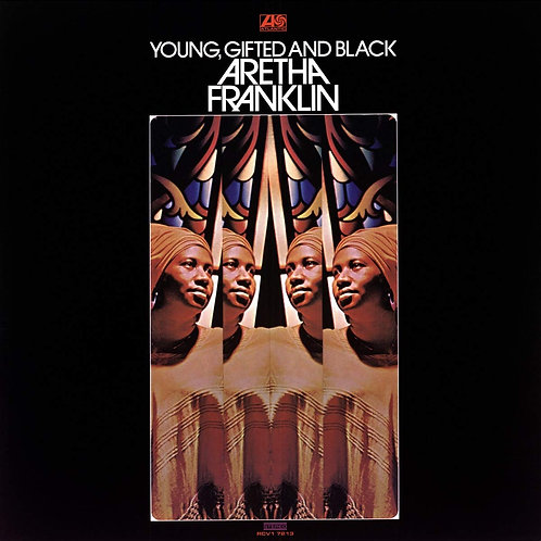 ARETHA FRANKLIN LP Young, Gifted And Black (Yellow Mustard Coloured Vinyl)
