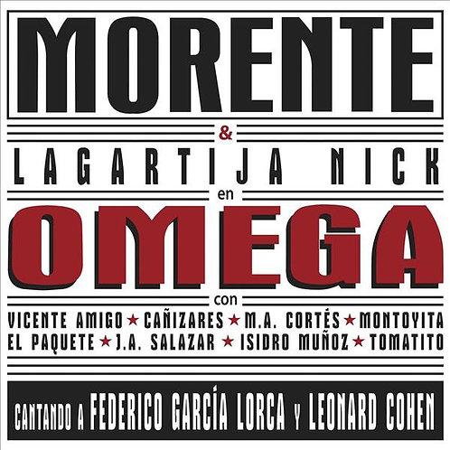 MORENTE & LAGARTIJA NICK 2xLP OMEGA (Edición 20º Aniversario)