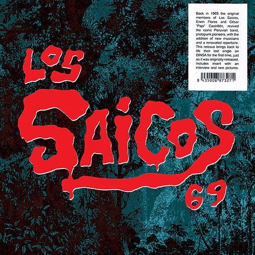 """LOS SAICOS 7"""" 69 El Mercenario / Un Poquito De Pena"""