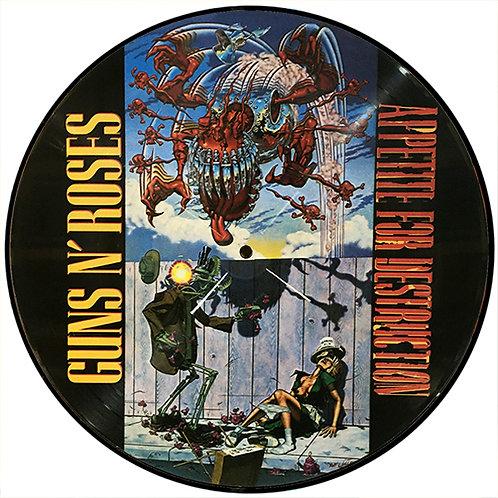 GUNS AND ROSES LP Appetite For Destruction (Picture Disc)