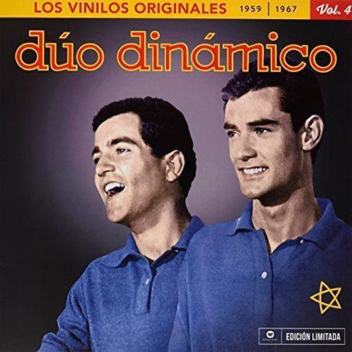 DUO DINAMICO LP+CD Los Vinilos Originales 1959-1967 Vol. 4