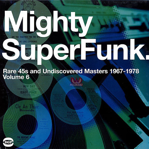 VARIOS 2xLP Mighty SuperFunk. Rare 45s And Undiscovered Masters 1967-1978