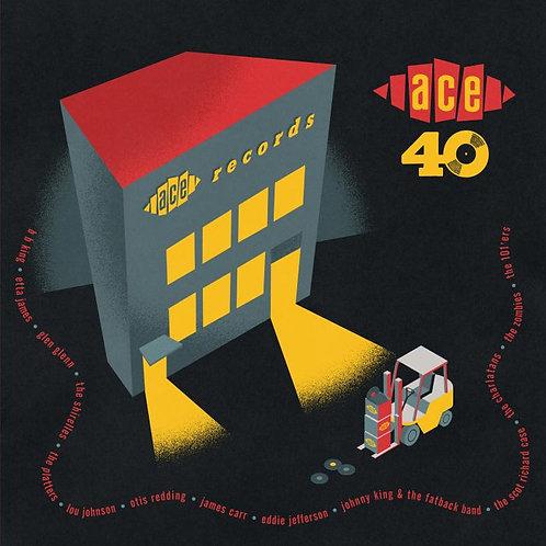 "VARIOS BOX SET 7x7"" Ace Records 40th Anniversary Single Box Set"