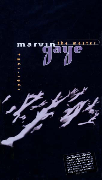 MARVIN GAYE BOX SET 4XCD The Master 1961-1984 (Longbox)