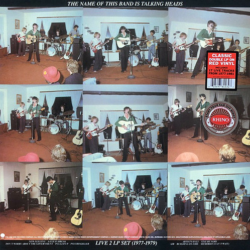 TALKING HEADS 2xLP The Name Of This Band Is Talking Heads (Red Coloured Vinyls)