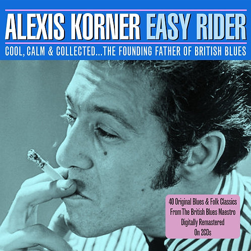 ALEXIS KORNER 2xCD Easy Rider