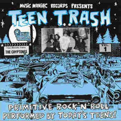 THE CRYPTONES CD Teen Trash Volume 1 (France)