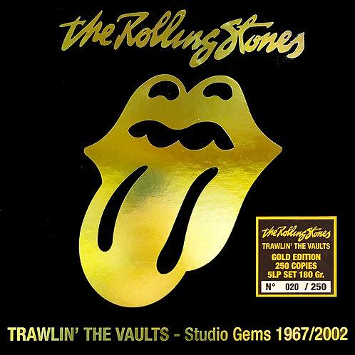 ROLLING STONES BOX SET 5xLP TRAWLIN' THE VAULTS STUDIO GEMS 1967/2002 (GOLD)