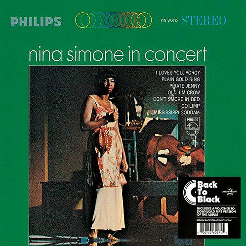 NINA SIMONE LP In Concert