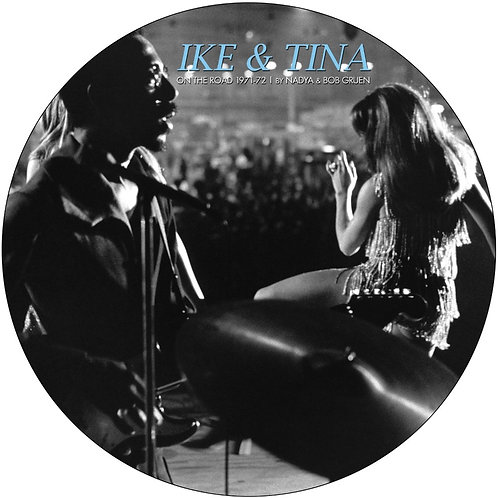 """IKE & TINA TURNER 11"""" EP On The Road 1971-72 (Picture Disc)"""